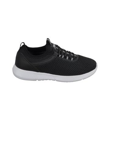 Bestof Bst-059 Siyah-Beyaz Unisex Spor Ayakkabı Siyah